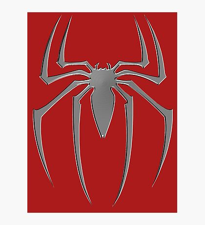 Spiderman suit spider Photographic Print