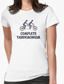 Tandem Bike Complete Tandemonium Womens Fitted T-Shirt