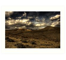 Valley of the Warm Winds Art Print