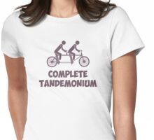 Tandem Bike Complete Tandemonium Womens Fitted T-Shirt