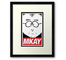 MKAY Framed Print