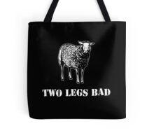Two Legs Bad Sheep Tote Bag