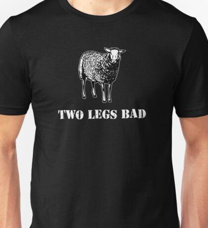 Two Legs Bad Sheep Unisex T-Shirt