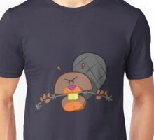 Evil Beaver T-shirt Unisex T-Shirt