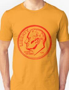 FDR-DIME RED Unisex T-Shirt
