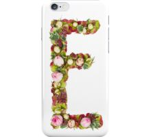 Capital Letter E Part of a set of letters, Numbers and symbols  iPhone Case/Skin