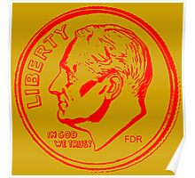 FDR-DIME RED Poster
