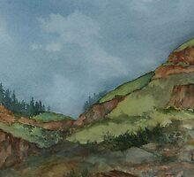 Imnaha Rock by Lynne Wright