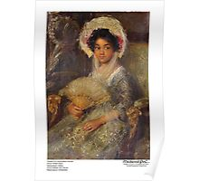 Portrait of a Young Black Woman Poster