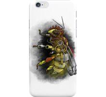 Tampered Temper: Steampunk Honeybee iPhone Case/Skin