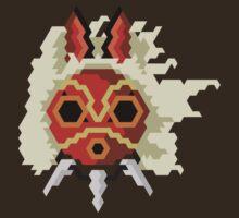 Trixel Princess San Mask by explosivebarrel
