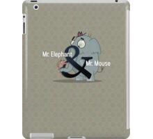 Mr. Elephant & Mr. Mouse iPad Case/Skin