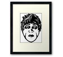 Dr Caligari Original Face Framed Print