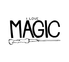 I love magic. by byrdsofafeather