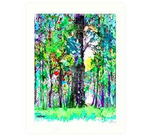 Picasso's Forest Art Print