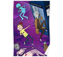 Rick and Morty - Doctor Who Mash Up!  Poster