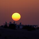 Dubai Sunset by Kiwikiwi