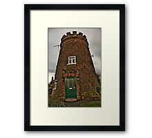 The Round House Framed Print