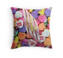 Sweet Talk Me Throw Pillow