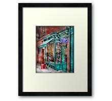 Barber Shop Framed Print