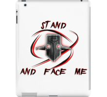 Juggernaut (darkness version) iPad Case/Skin