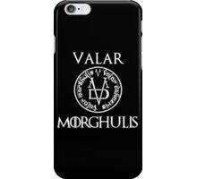 Game Of Thrones-Valar morghulis iPhone Case/Skin
