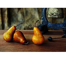 Pears and Chinese Bell Photographic Print