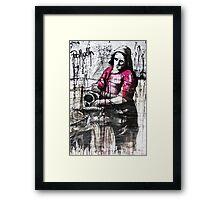 milk woman Framed Print
