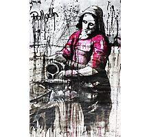 milk woman Photographic Print
