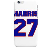 National football player Odie Harris jersey 27 iPhone Case/Skin