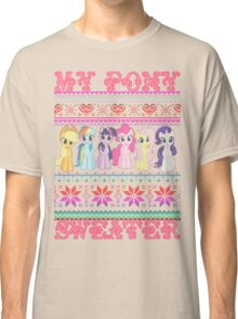 My Pony christmas sweater Classic T-Shirt