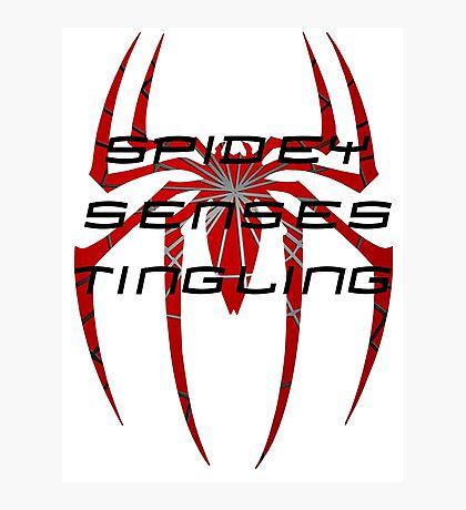 Spidey senses tingling- Spiderman Photographic Print