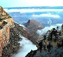 Otherworldly Grand Canyon Sunrise In Arizona  by jessonajourney
