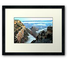 Otherworldly Grand Canyon Sunrise In Arizona  Framed Print
