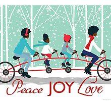 Peace Joy Love by RashidahSales