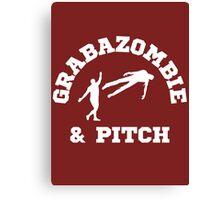 Grabazombie & Pitch Canvas Print