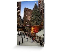 Rockefeller Holiday Tree Greeting Card