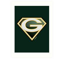 Super Packers of Green Bay Art Print