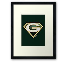 Super Packers of Green Bay Framed Print