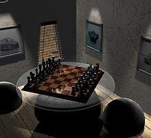 Chess by darkbluesign