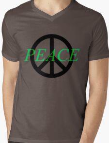 Peace Band Mens V-Neck T-Shirt