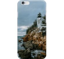 Bass Harbor Lighthouse iPhone Case/Skin