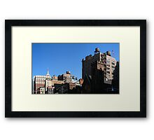 Gotham ensemble Framed Print