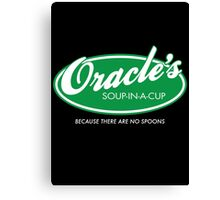 Oracle's Soup-In-A-Cup Canvas Print