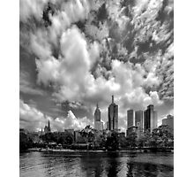 Melbourne By The Yarra Photographic Print