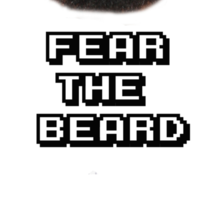 Fear The Beard - Basketball - James Harden Sticker