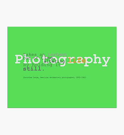 Still Life Photographic Print