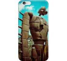 Castle in the Sky's Soldier iPhone Case/Skin