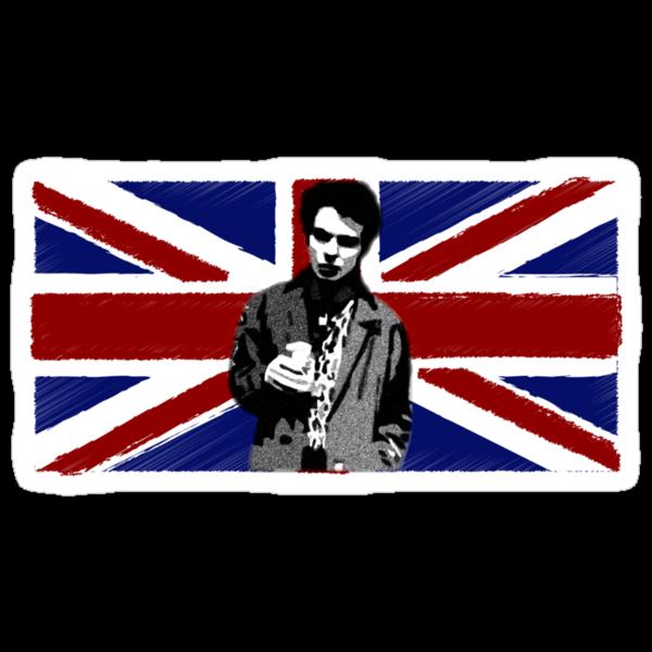 Punk is Not Dead - Sid Vicious - Sex Pistols - Union Jack by Mark Wilson