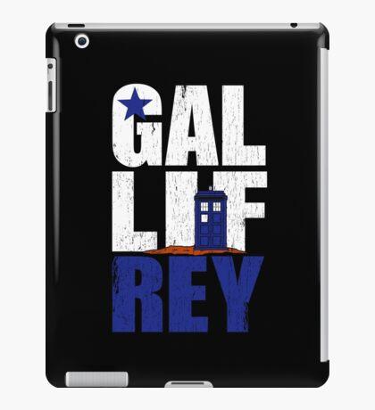 Time Lord Republic of Galifrey iPad Case/Skin